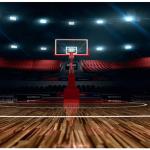 زمین سالن بسکتبال