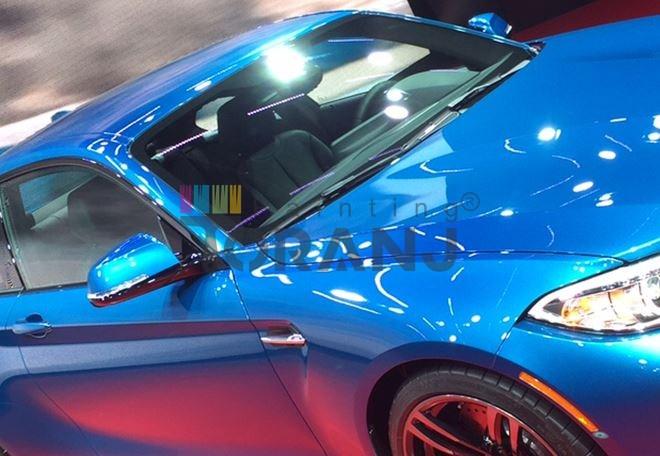 رنگ اتومبیل پارس اشن