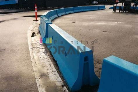 شماتیکی از جدول های پارک حاوی پوشش رنگ جدولی